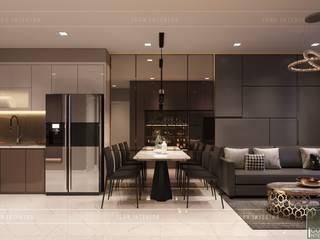 Modern dining room by ICON INTERIOR Modern