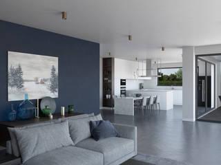 Cozinhas modernas por Dündar Design - Mimari Görselleştirme Moderno