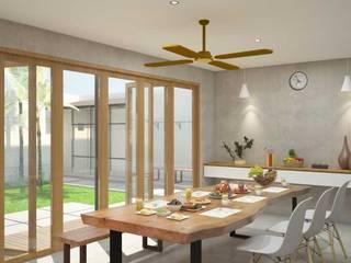 Ruang Makan:  Ruang Makan by Inspace Studio