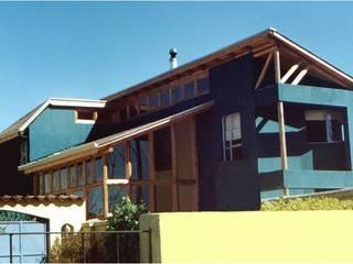 Casas ecológicas de estilo  por eco cero - Arquitectura sustentable en Talca, Moderno