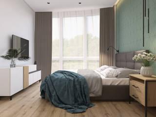 Маленькие спальни в . Автор – AbiStyle