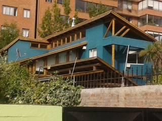 Casas de campo de estilo  por eco cero - Arquitectura sustentable en Talca, Moderno