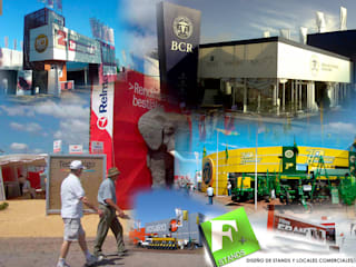 Exhibition centres by Faerman Stands y Asoc S.R.L. - Arquitectos - Rosario, Industrial