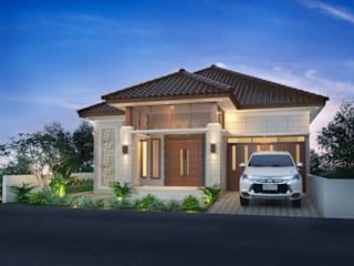 Private House Bpk A:  Rumah by Arsitekpedia