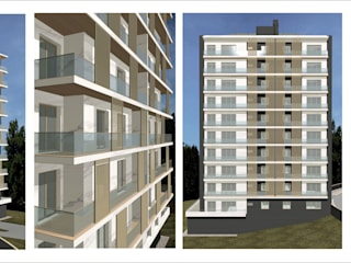Condominio no Seixal :   por MCA -  marquescarvela, arquitectura