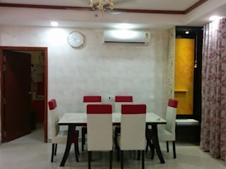 Mr Ashish Residence Modern dining room by Design Kreations Modern