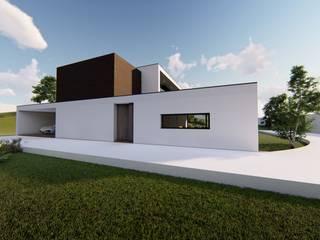 บ้านเดี่ยว โดย Jesus Correia Arquitecto,
