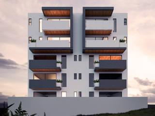 Casas minimalistas por WERHAUS ARQUITECTOS Minimalista