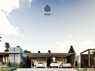 Casa SENDEROS: Casas de estilo  por Corporativo Empresarial BYGG S.A. de C.V.,