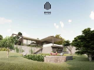 Fachada principal: Casas de estilo  por Corporativo Empresarial BYGG S.A. de C.V.