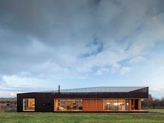Ecospace Italia srl Wooden houses Wood Black