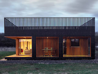 Ecospace Italia srl Prefabricated Home Wood Black