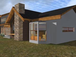 VIVIENDA RURAL - PARCELAS SANTA JULIA MELIPILLA de Vicente Espinoza M. - Arquitecto Rural