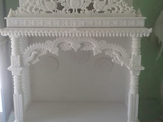 Marble Temple: modern  by Grp Marbles,Modern