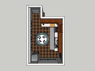 Cozinha. Minna interiores Leiria por Minna Interiores Moderno