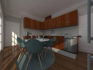 Cozinha. Minna interiores Leiria:   por Minna Interiores