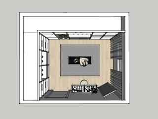 Closet. Minna Interiores Leiria:   por Minna Interiores