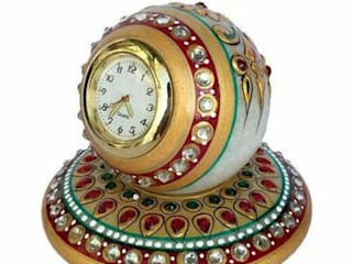 Marble Table Clock:   by Grp Marbles