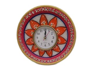 Antique Marble Painted Clock:   by Grp Marbles