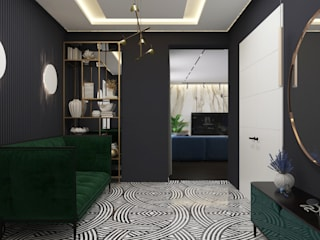 Квартира 130м2: Коридор и прихожая в . Автор – PlatFORM