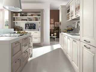 Cozinha para quem ama a tradição:   por Area design interiores - cozinhas em Braga
