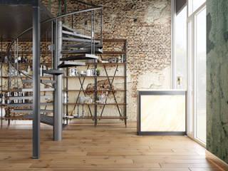 Кальянная Insomnia: Лестницы в . Автор – MBM studio,
