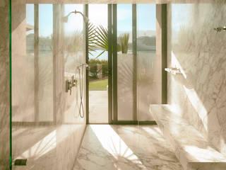 Hotel diseño: Hoteles de estilo  por Eduardo Zamora arquitectos