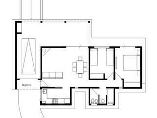 CASA EN TANTI , CORDOBA , ARGENTINA de arq5912 Arquitectura y Construcción Minimalista