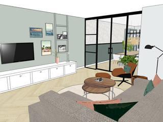 Interieurontwerp nieuwbouwwoning Vianen van Blenddin Interieurontwerp & Advies