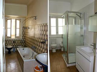Remodelações de casas de banho:   por Construdesign