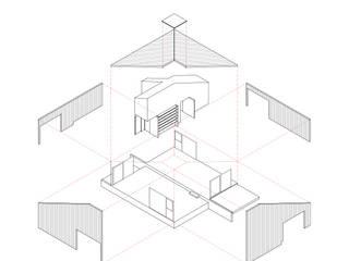 Maisons de style  par mutarestudio Arquitectura, Moderne