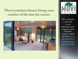 MOVI SHIPPING CONTAINER HOMES 1 MOVİ evleri Bungalov