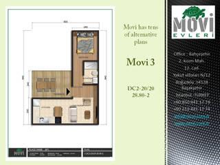 Casas pequeñas de estilo  por MOVİ evleri