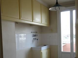 Rénovation d'un appartement Aix en Provence Cuisine moderne par Sarah Archi In' Moderne
