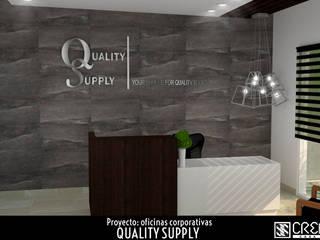 Quality Supply: Estudios y oficinas de estilo  por Creatica 88 Casa Diseño,