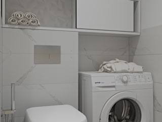 ЖК Автограф, дизайн ванной комнаты Ванная комната в стиле минимализм от E.KAZADAEVA. Interior design Минимализм