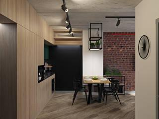 ЖК Синергия от E.KAZADAEVA. Interior design Лофт