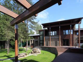 Forester house - современный загородный дом: Загородные дома в . Автор – Роман Леонидов - Архитектурное бюро