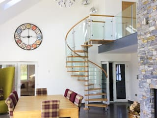 Modern Spiral Staircase Antrim by Complete Stair Systems Ltd Сучасний