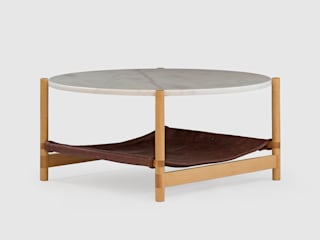 1.02 Circular coffee table de AYLE Minimalista