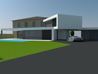 Casa do Tornadouro por Engebasto - Atividades de Engenharia e Arquitetura, Lda