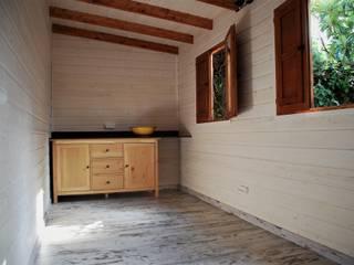 Caseta de madera habitable en RivasVaciaMadrid de Construcción de casetas de Madera en Madrid Rústico