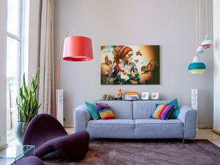 Living room by Regina Dijkstra Design, Modern