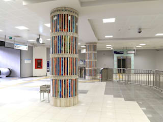 DESTONE YAPI MALZEMELERİ SAN. TİC. LTD. ŞTİ.  – Marmaray Metro Kolonları:  tarz Havalimanları