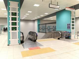 Aeropuertos de estilo  de DESTONE YAPI MALZEMELERİ SAN. TİC. LTD. ŞTİ. , Industrial