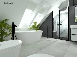 Biuro Projektowania Wnętrz HaDeKa Kamar Mandi Modern Grey