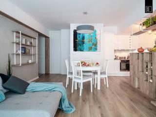 Living room by KODO projekty i realizacje wnętrz