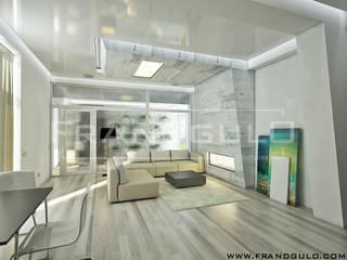 Salas de estilo minimalista de Frandgulo Minimalista
