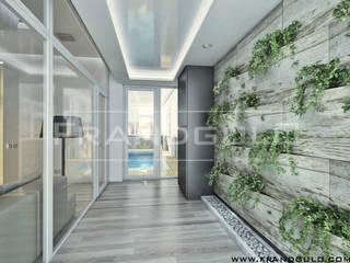 Дом в стиле эко-хай-тек Гостиная в стиле минимализм от Frandgulo Минимализм