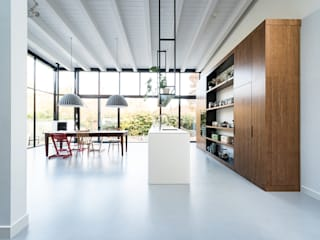 Kitchen by Dineke Dijk Architecten, Modern